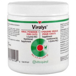 Viralys Powder L Lysine for Cats